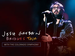 Josh Groban with the Colorado Symphony