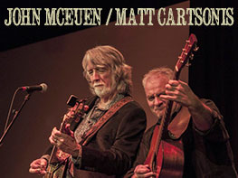 John McEuen & Matt Cartsonis House Concert