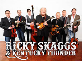 Ricky Skaggs & Kentucky Thunder Scenic Train Ride and Concert