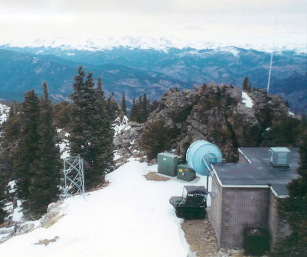 Early Squaw Mountain Transmitter