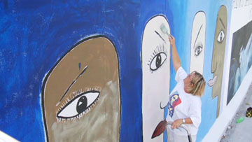 Tolerance: Mary Mackey and the East Side Gallery