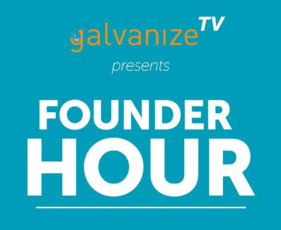 Galvanize founder hour logo