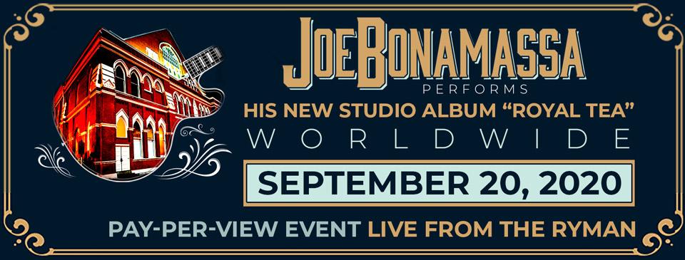 Joe Bonamassa Event
