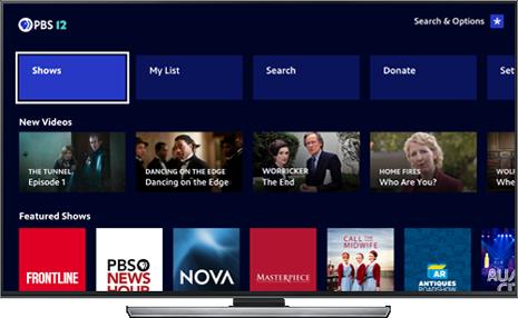 PBS app tv