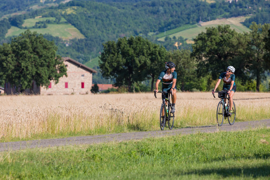cyclists in the country